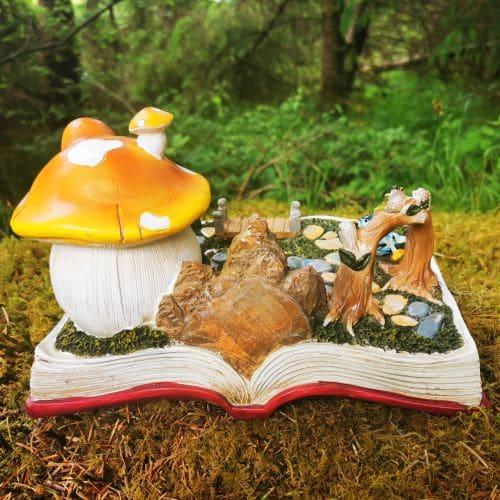 fairy book house