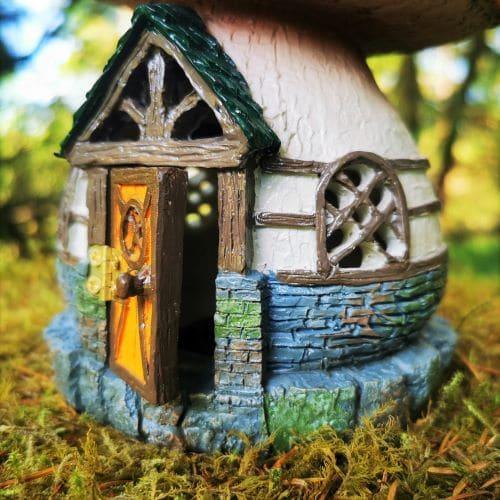 fairy house opening door