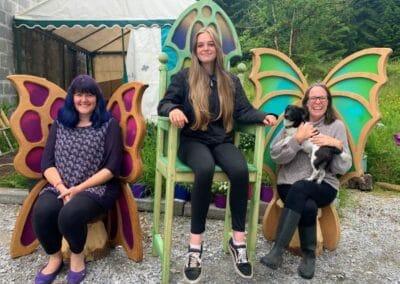 handmade Fairy Thrones and Seats