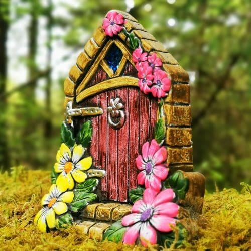 fairy door in the woods