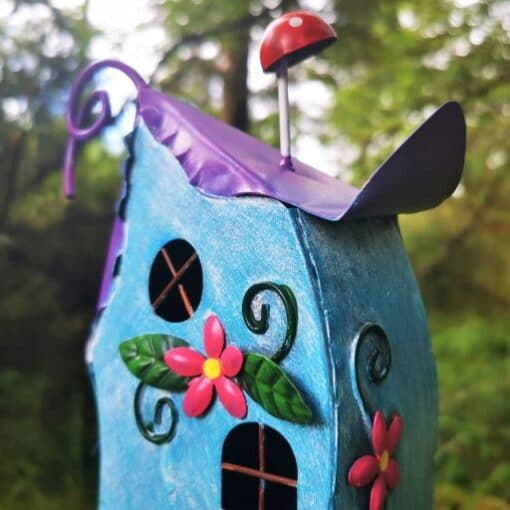 fairy house roof and windows