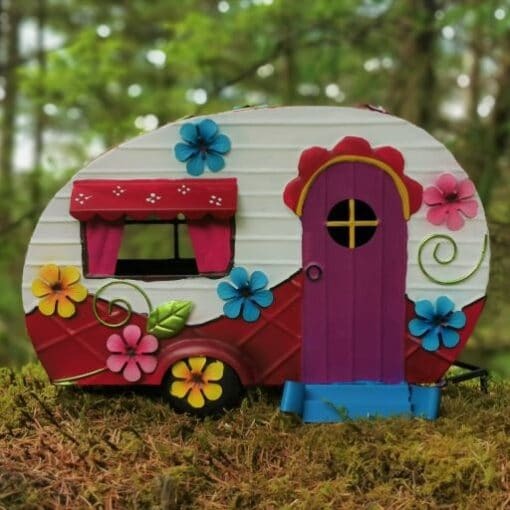 caravan garden ornament