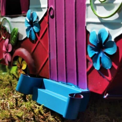 fairy caravan doorstep