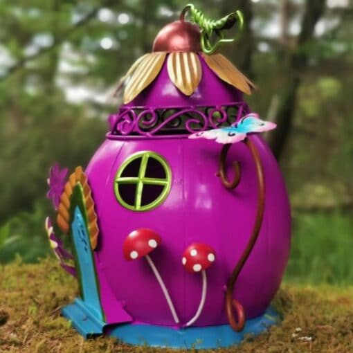 teapot house in the woods