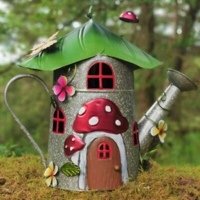 watering can fairy house