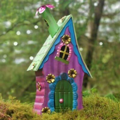 lilac fairy house