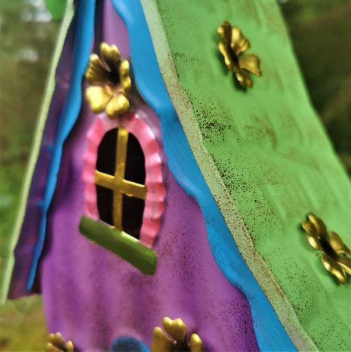 metal fairy window