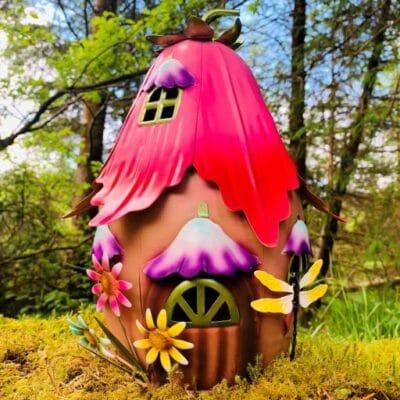 fuchsia foyer fairy house