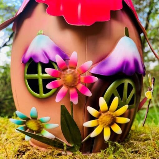 metal fairy garden ornament