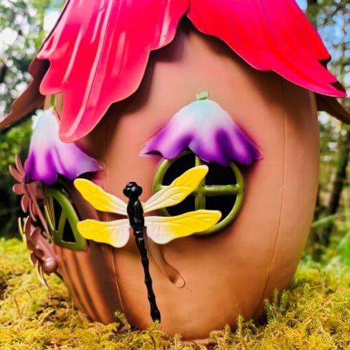 dragonfly fairy house