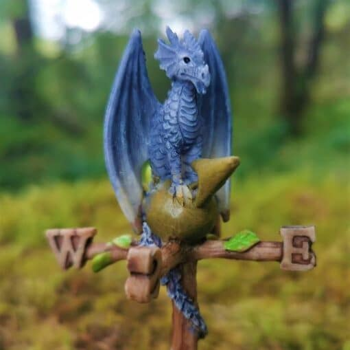 miniature dragon weathervane