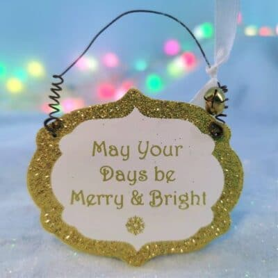 fairy christmas tree decoration