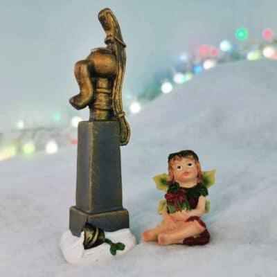 miniature christmas water pump