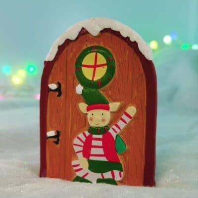 xmas fairy door