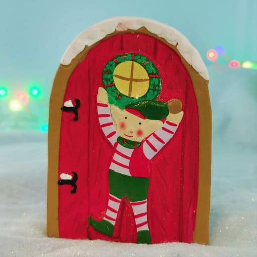 xmas fairy elf door Ireland