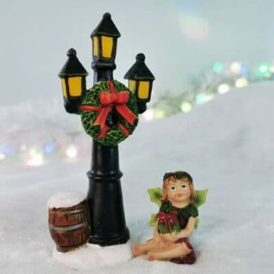 christmas fairy door accessory